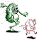 virus besmetting